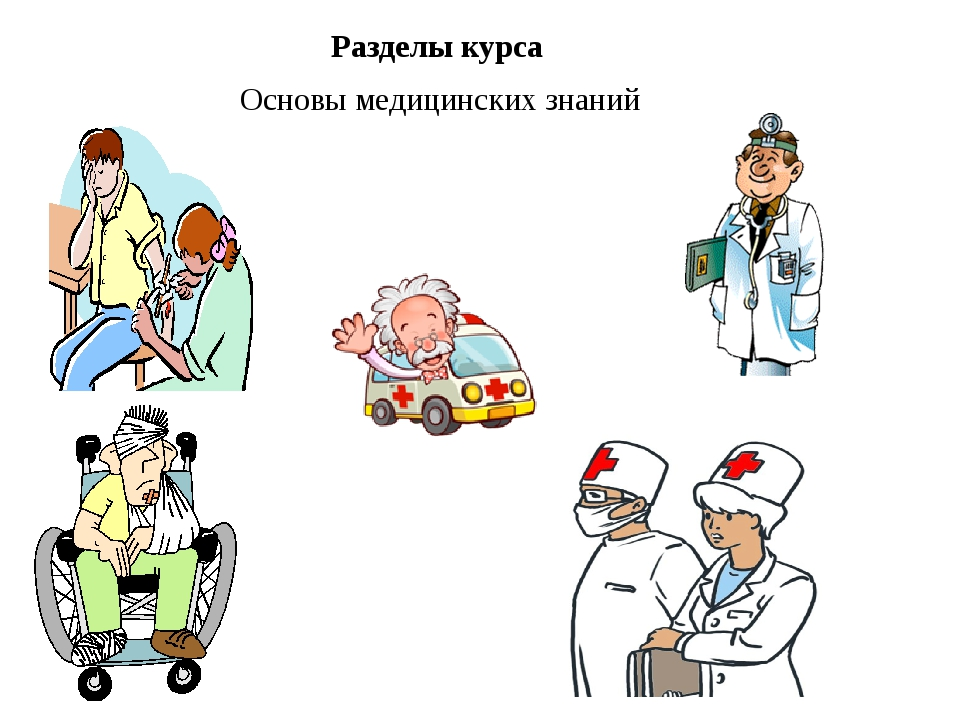 Разделы курса Основы медицинских знаний