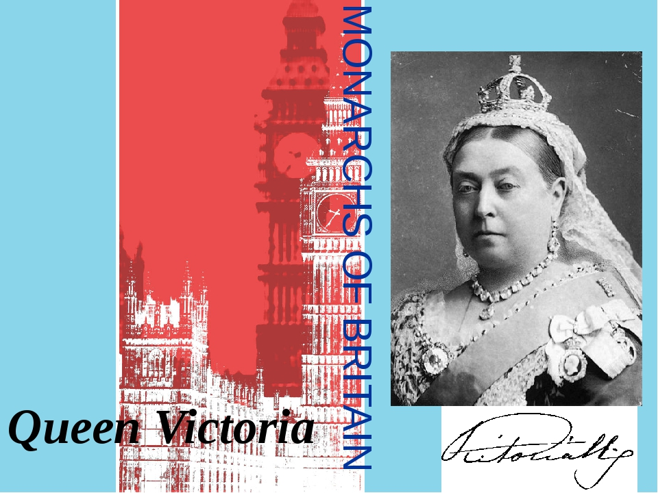 MONARCHS OF BRITAIN Queen Victoria