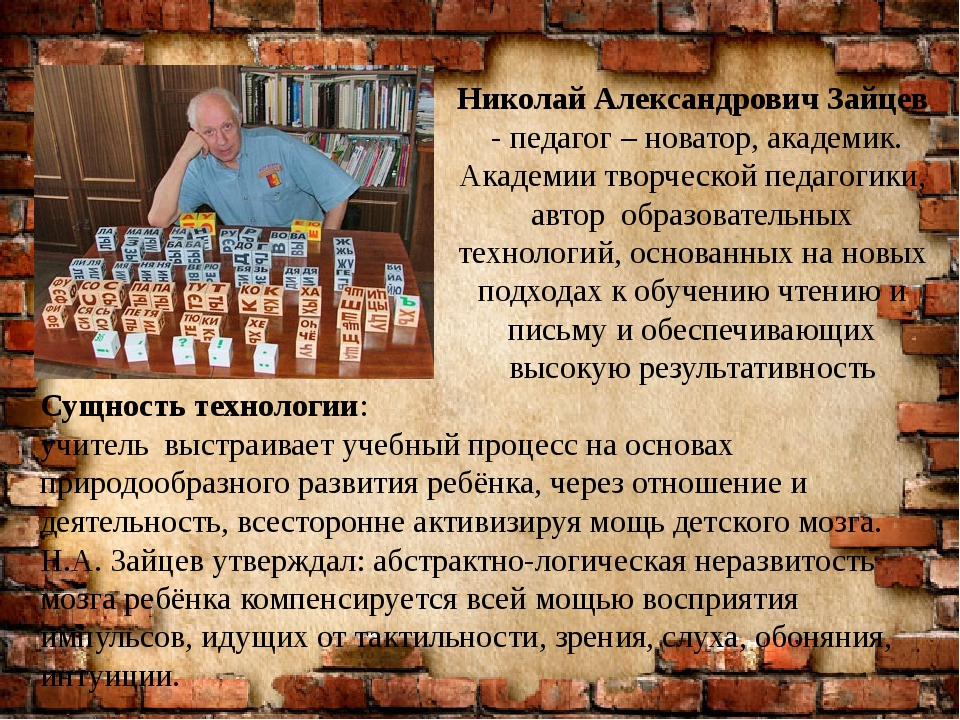 Николай Александрович Зайцев - педагог – новатор, академик. Академии творческ...