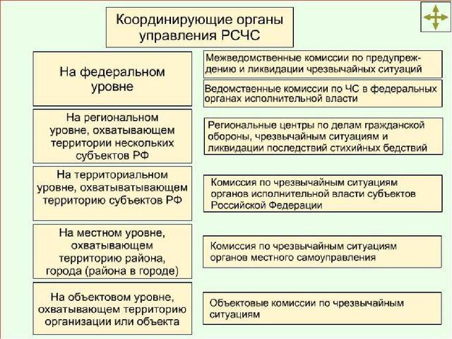 Постоянно действующие органы управления РСЧС Рабочими органами комиссий по чр...