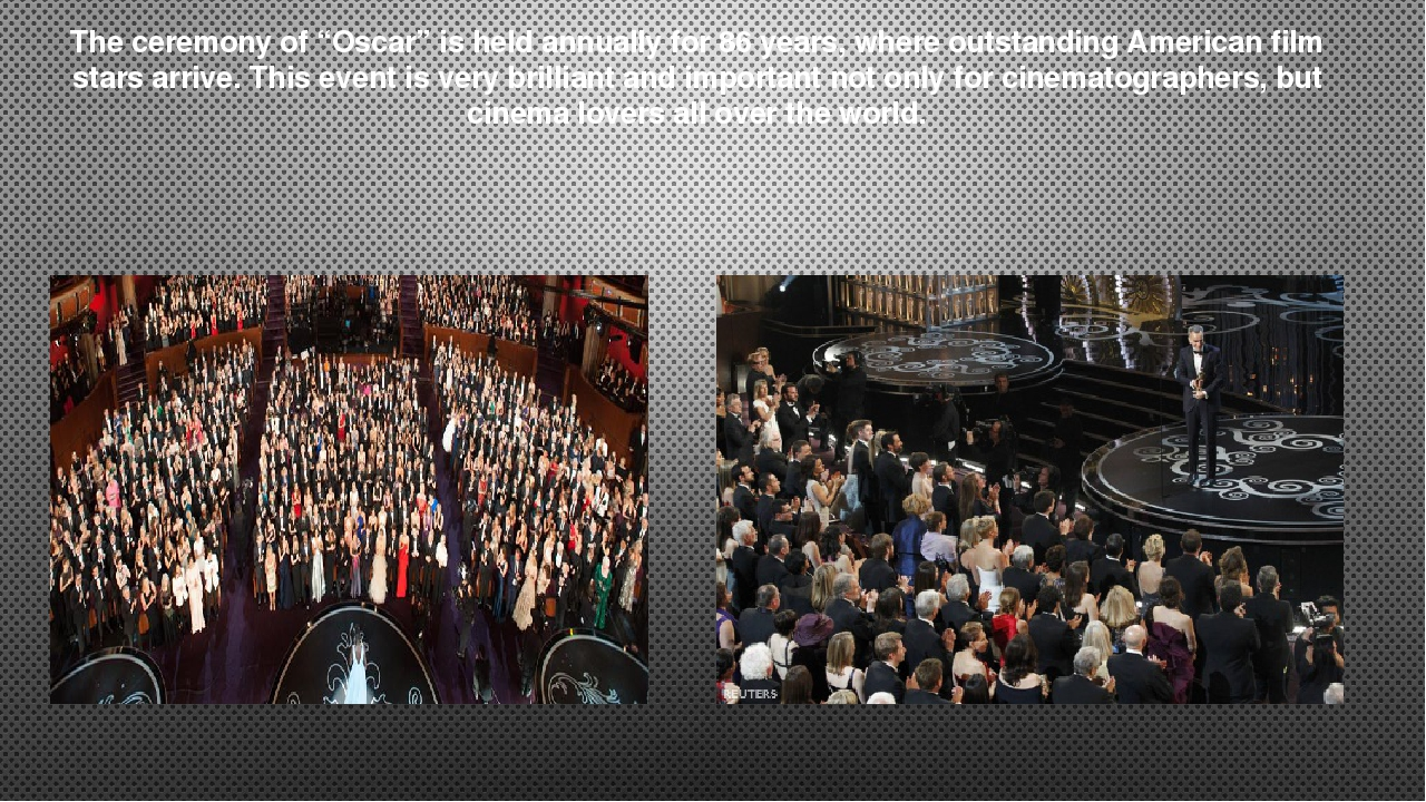 """The ceremony of """"Oscar"""" is held annually for 86 years, where outstanding Amer..."""
