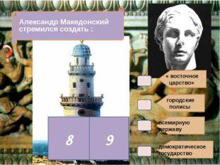 В4. городские полисы всемирную державу демократическое государство Александр