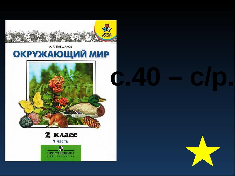 с.40 – с/р.
