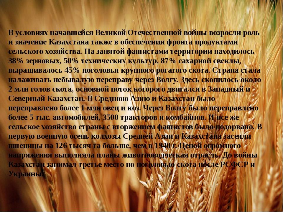 В условиях начавшейся Великой Отечественной войны возросли роль и значение Ка...