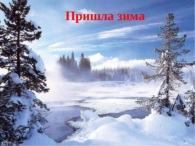 Пришла зима *