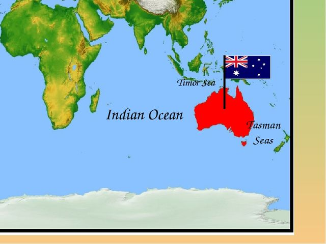 Indian Ocean Tasman Seas Timor Sea
