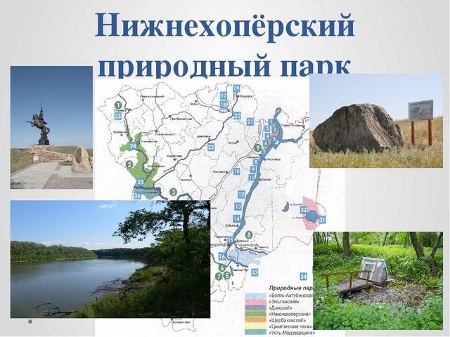 Нижнехопёрский природный парк