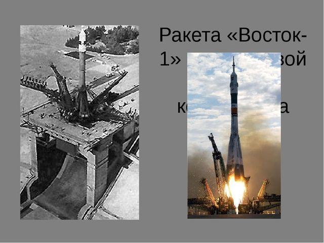 Ракета «Восток-1» на стартовой площадке космодрома
