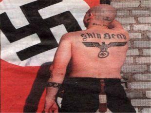 К 1985 году, так же, как и в Англии фашизм пустил корни и в американской скин