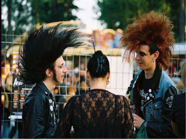 В Росси панк-музыка появилась в 80-х.