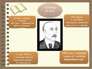 Спандияр Көбеев 1901 жыл Қостанай қаласы мұғалімдер даярлайтын курс 1 қазан 1