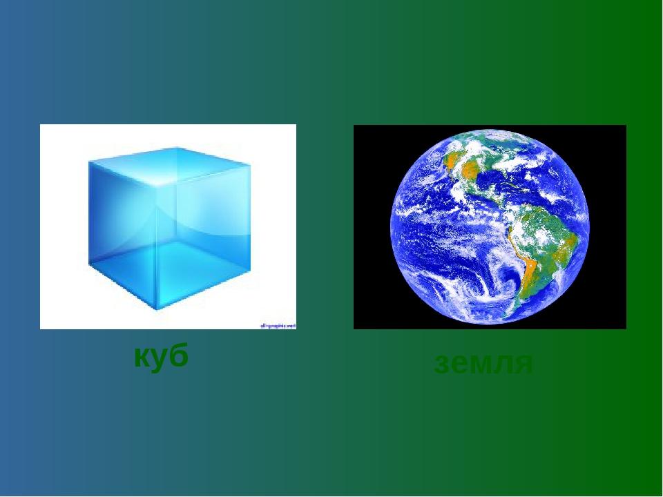 куб земля