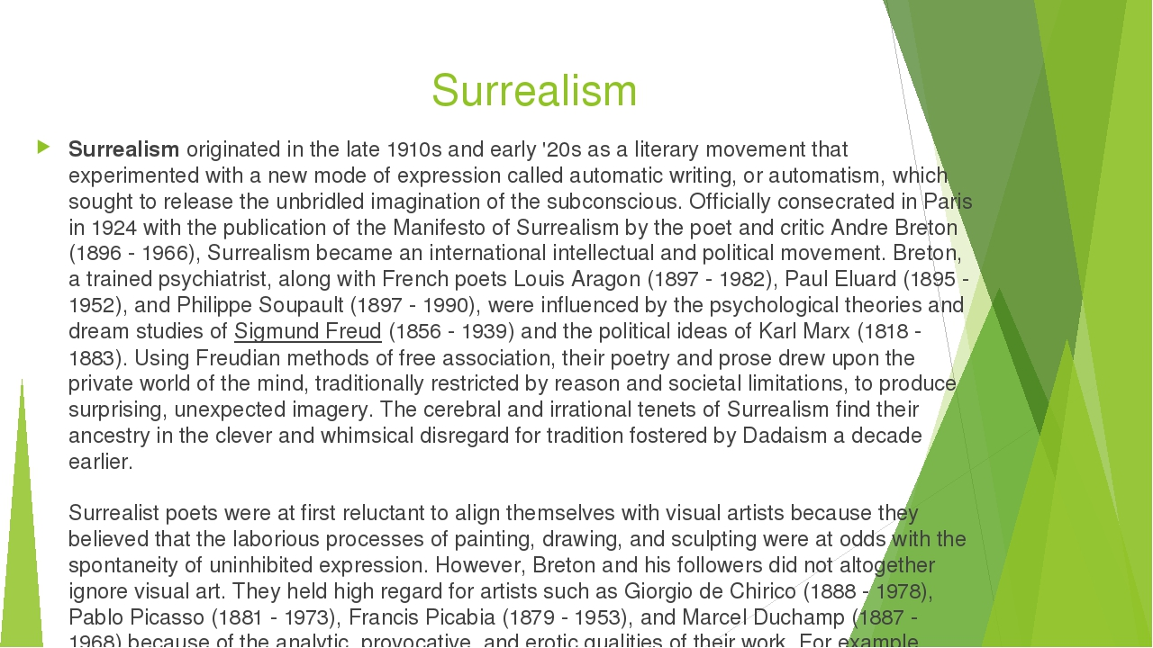 the origins of surrealism essay