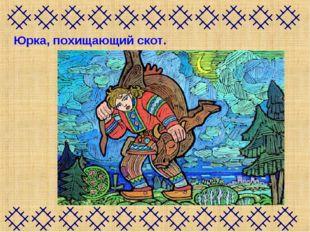 Юрка, похищающий скот.