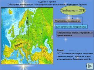 Особенности ЭГП Приморское положение Компактность территории 5000 км 3000 км
