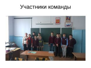 Участники команды