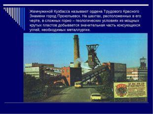 Жемчужиной Кузбасса называют ордена Трудового Красного Знамени город Прокопье