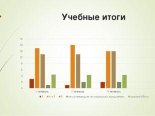 Учебные итоги