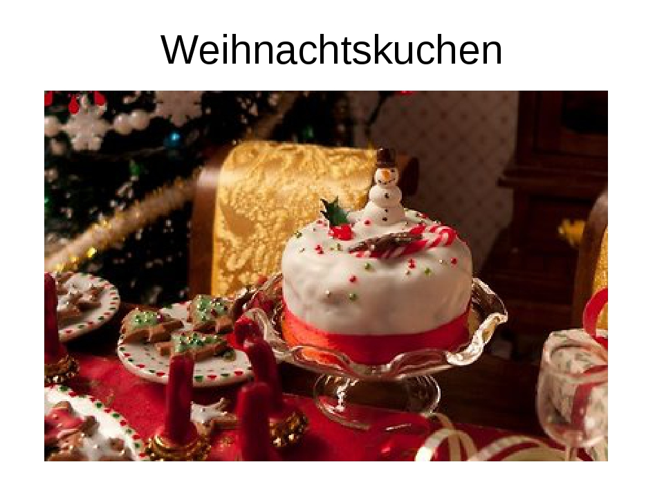Weihnachtskuchen