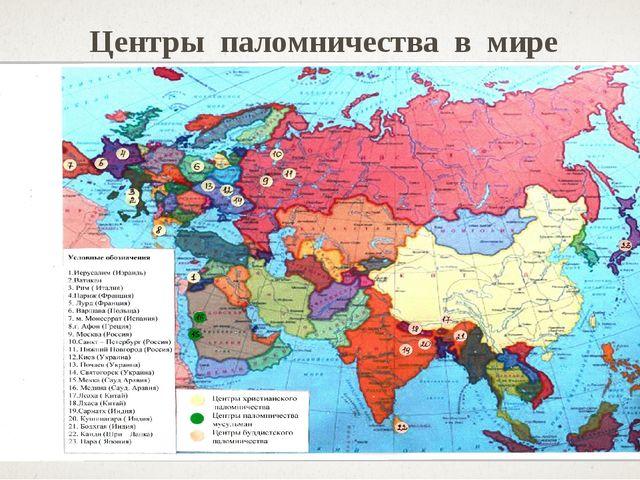 Центры паломничества в мире