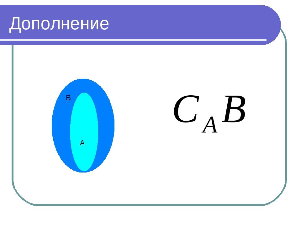 Дополнение А В
