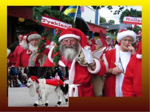 Санта Клаус: Страны: Канада Праздничный костюм: Красная куртка и панталоны, р