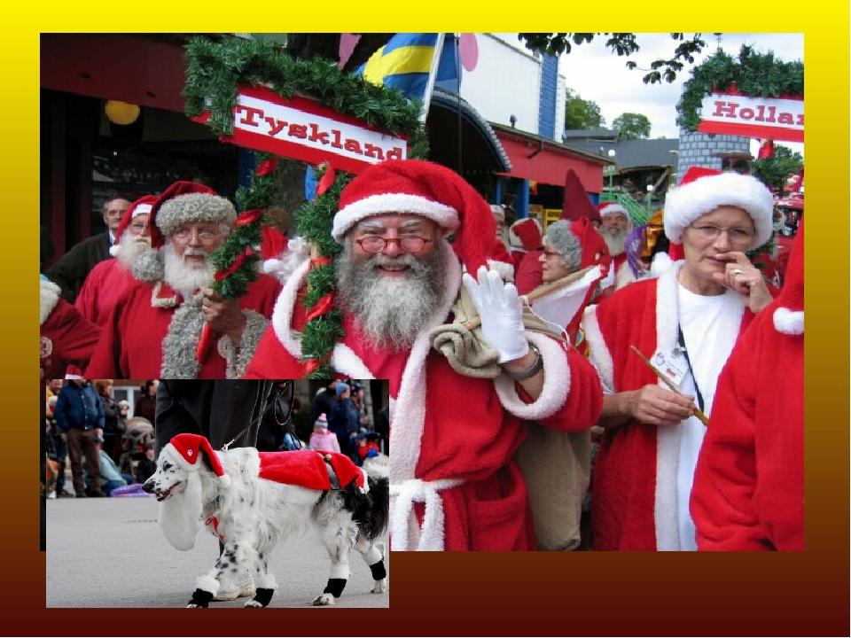 Санта Клаус: Страны: Канада Праздничный костюм: Красная куртка и панталоны, р...