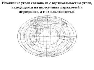 Искажение углов связано не с вертикальностью углов, находящихся на пересечени