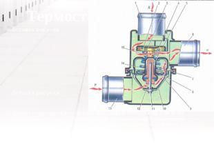Термостат корпусының (1) түбіне сильфон , (гофрирленген стакан) дәнекерлеп ұс