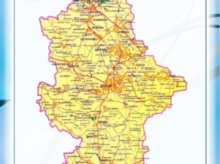 Карта-схема автомобильных дорог
