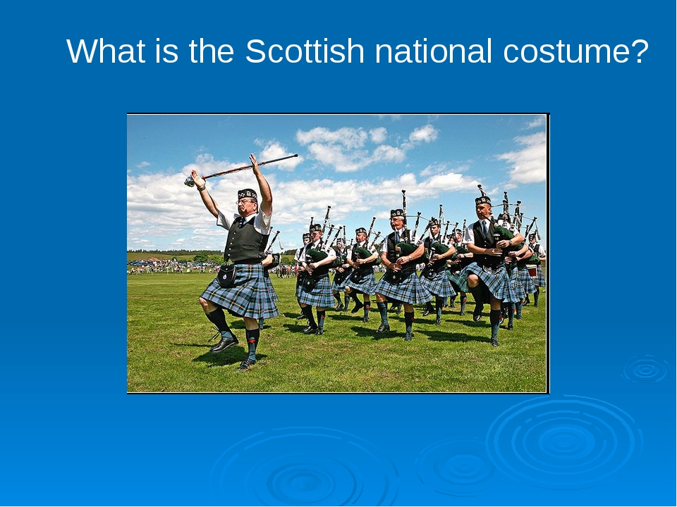 What is the Scottish national costume?