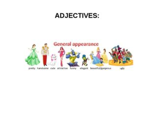 ADJECTIVES: