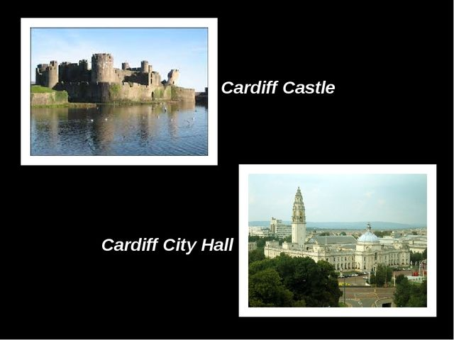 Cardiff Castle Cardiff City Hall