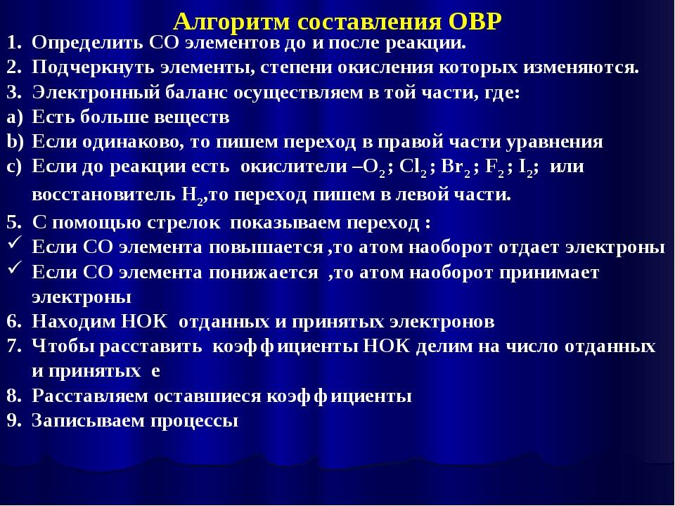 Определить СО элементов до и после реакции. Подчеркнуть элементы, степени оки...