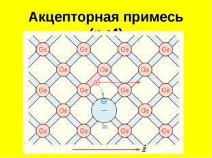 Акцепторная примесь (n