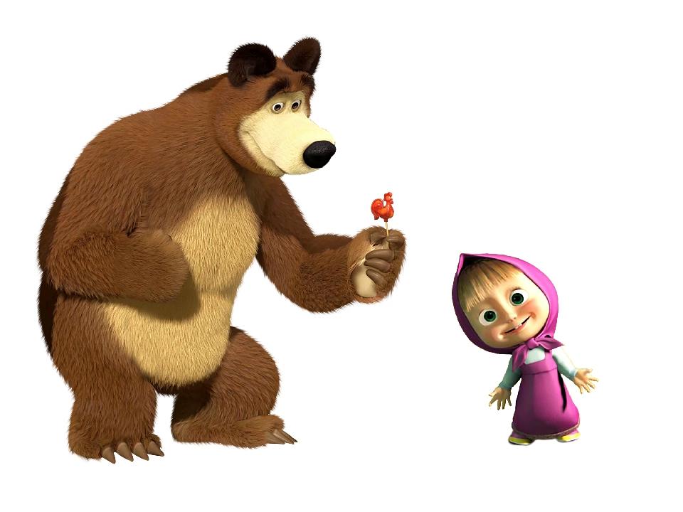 Маша и медведь картинки для печати школа