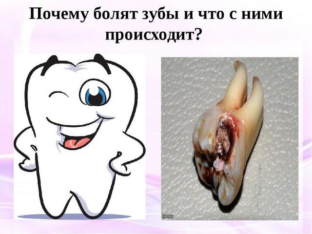 Почему болят зубы и что с ними происходит?