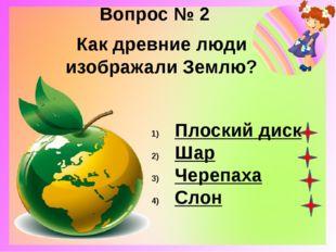 Вопрос № 3 Какую из перечисленных стран называют страной «Восходящего солнца»