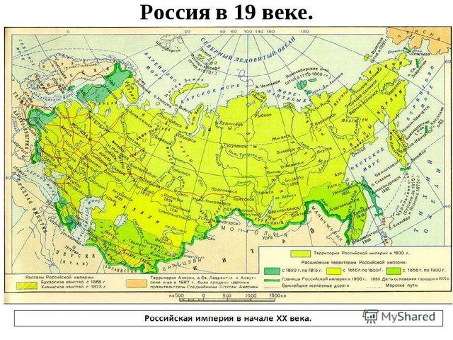 Россия в 19 веке.