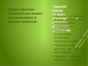 *Дружба между людьми, значение и ценность дружеских отношений Предложенное на