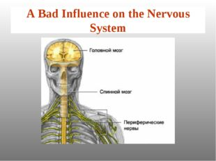 A Bad Influence on the Nervous System