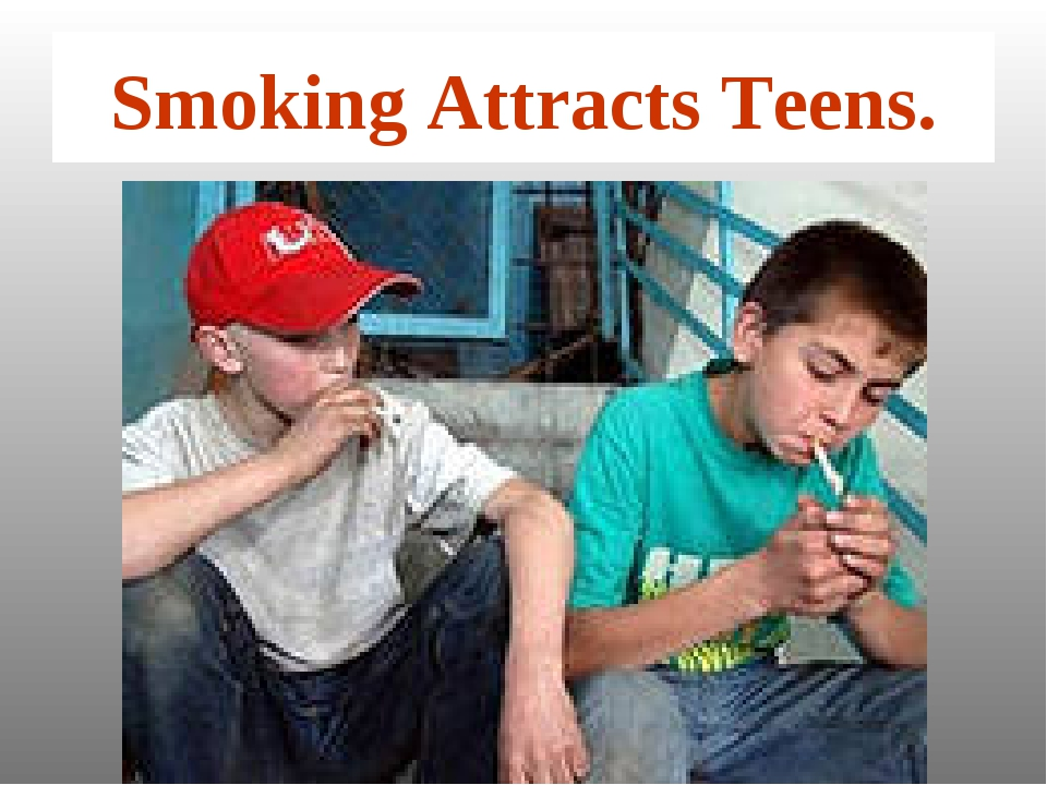 Smoking Attracts Teens.