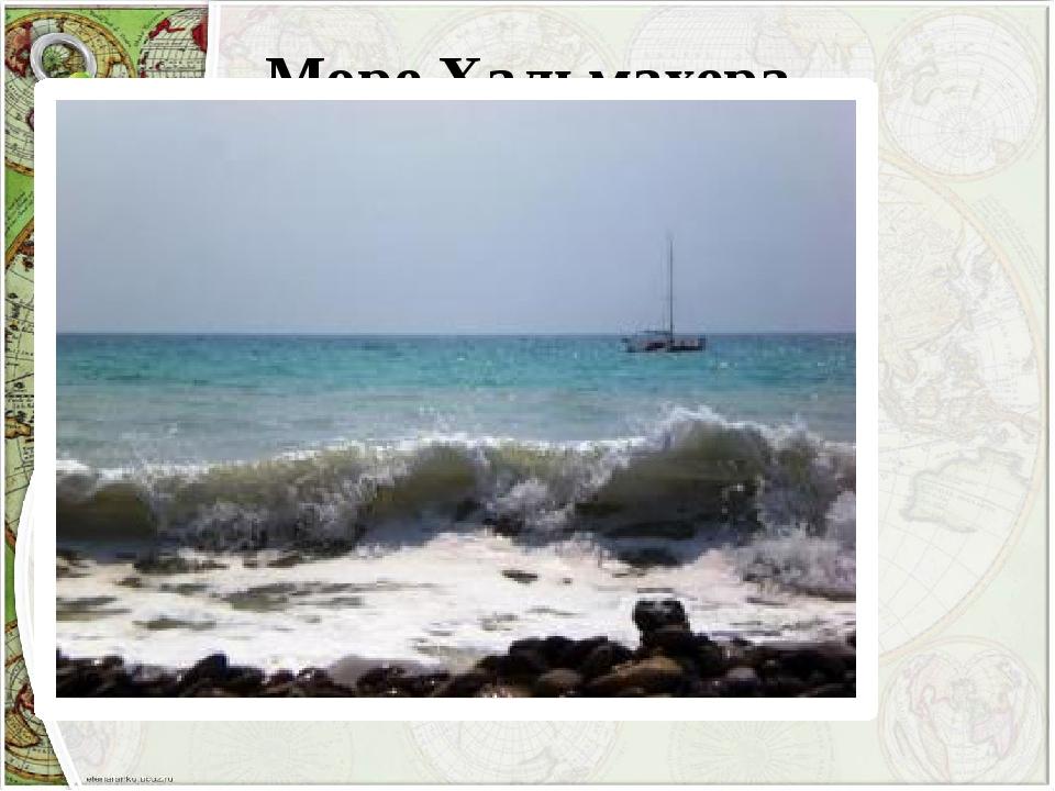 Море Хальмахера