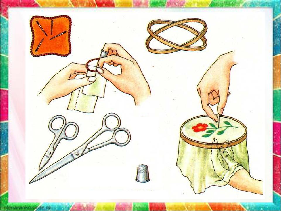 Инструмент для вышивки крестом 384