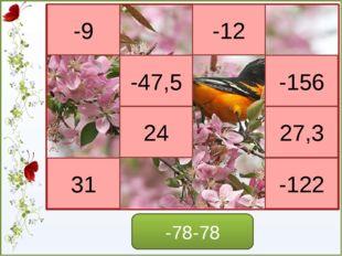 Посмотрите на примеры и сформулируйте правило умножения отрицательных чисел -