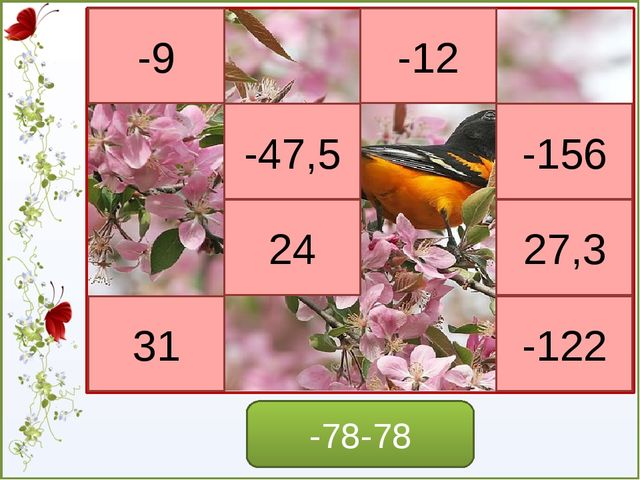 Посмотрите на примеры и сформулируйте правило умножения отрицательных чисел -...