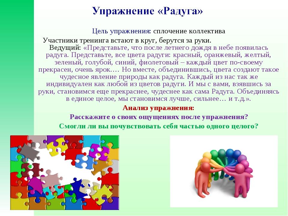 Психологическая Упражнение Для Знакомства