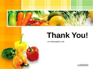 Thank You! www.themegallery.com L/O/G/O