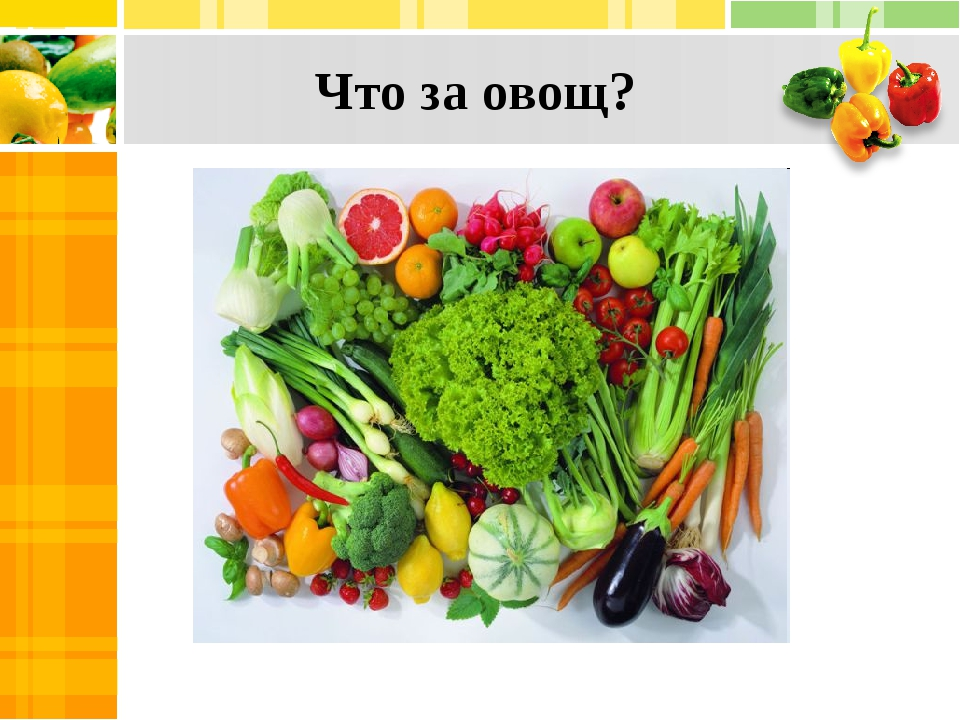 Что за овощ?