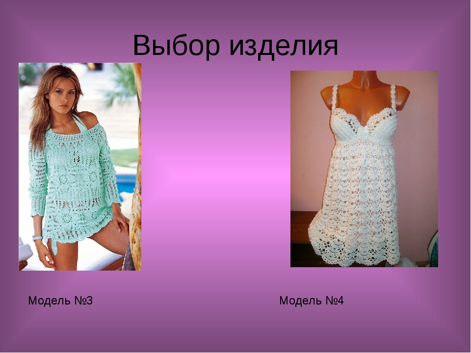Выбор изделия Модель №3 Модель №4
